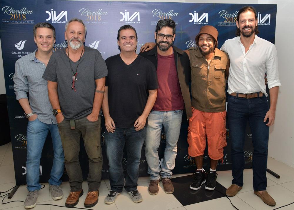 042ebd84114 Réveillon Sheraton Hotel da Bahia 2018 terá animação da banda Alavontê. Foto   Eduardo Freire.