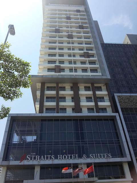 BERCUTI DAN MENGINAP DI STRAITS HOTEL & SUITES BANDAR MELAKA