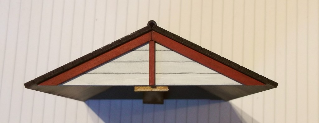 The wargames table charlie foxtrot building and for Box gable roof