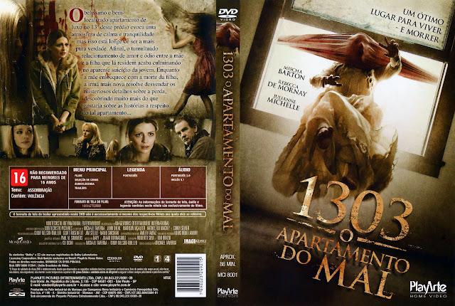 Capa DVD 1303 O APARTAMENTO DO MAL