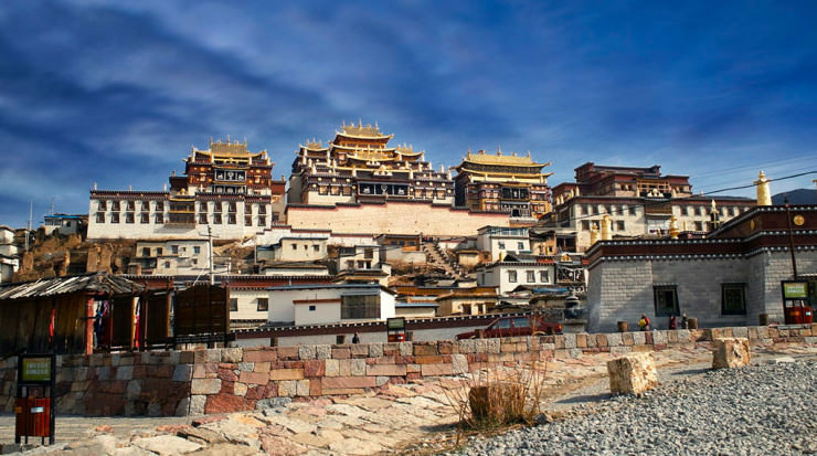 Top 11 Ancient Towns and Villages - Songzanlin, Shangri-La, China