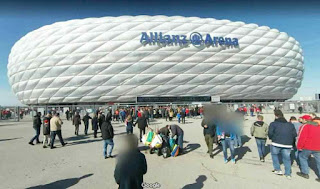 Allianz Arena is a football stadium in Munich Germany