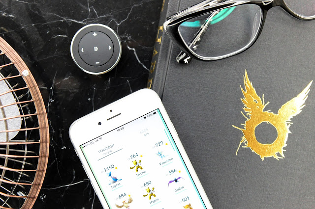 Non-Beauty Favourites July 2016 - Pokemon Go, Harry Potter and the Cursed Child, Vintage Style Desktop USB Fan, Satechi Media Button Bluetooth Car