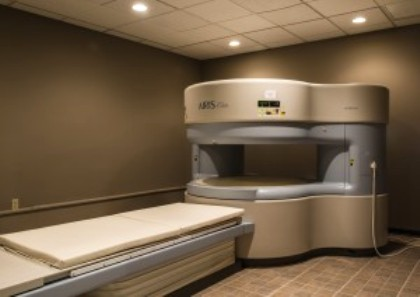 open MRI machine