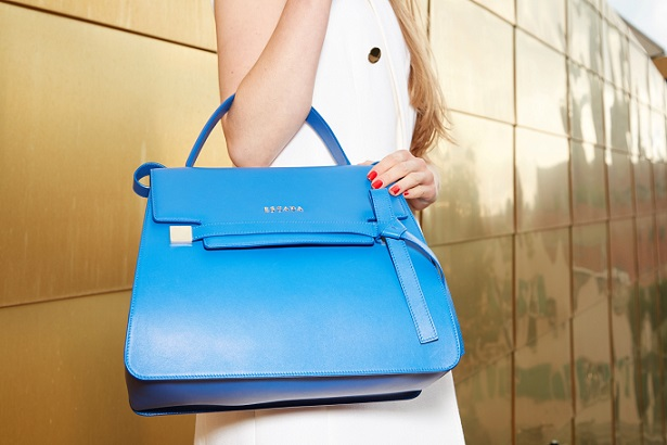 The Ml40 Has An Elegant Shape Modern Yet Classic It Is A Single Handle Satchel With Flap Closure And Detachable Shoulder Strap Bag Comes In