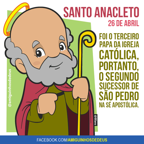 santo anacleto desenho