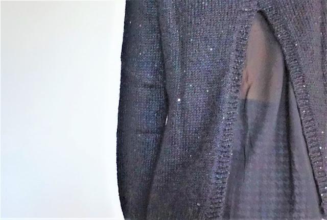 Patatam, détail d'un pull Kookaï