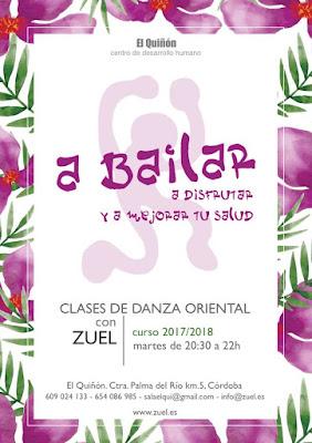 Aprende danza del vientre en Córdoba en El Quiñón