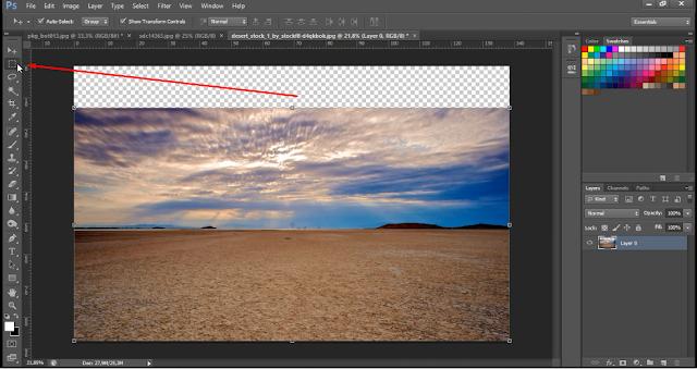 Photoshop Tutorial Membuat Digital Imaging