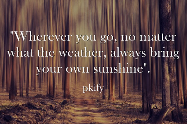 Wherever You Go No Matter What The Weather Nature Quotes
