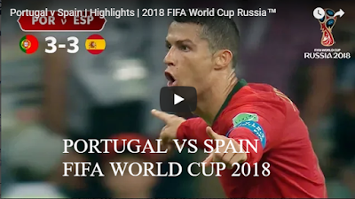 Portugal v Spain Highlights 2018 FIFA World Cup Russia