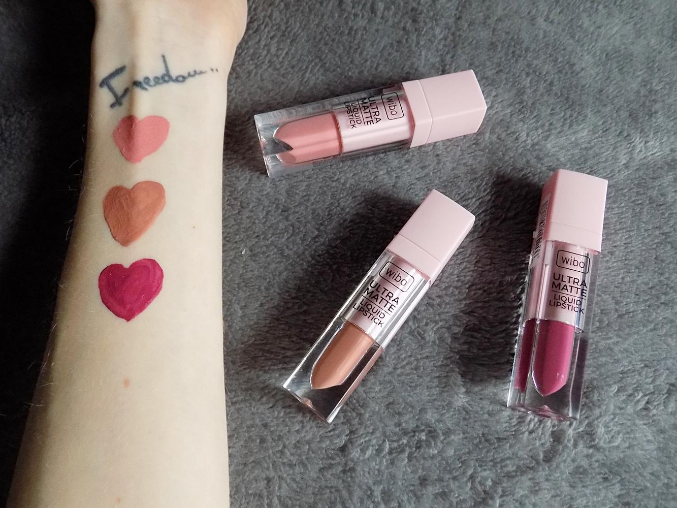 #31 Ultra Matte Liquid Lipstick - Nowości, płynne matowe pomadki Wibo!