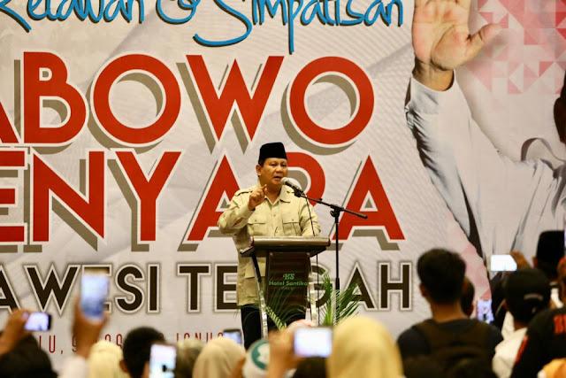 Prabowo: Lihat BUMN Kita Satu-satu Hancur, Bangkrut!