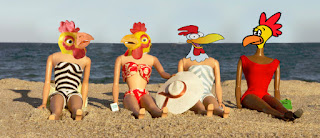 ……hot chicks at the beach