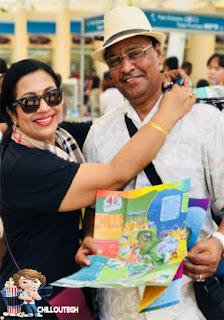 K. Bhagyaraj Poornima 34 year marriage anniversary