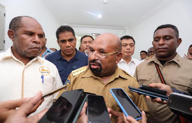 Lukas Enembe Ungkapkan Opsi Lockdown Papua Diputuskan Pekan Depan