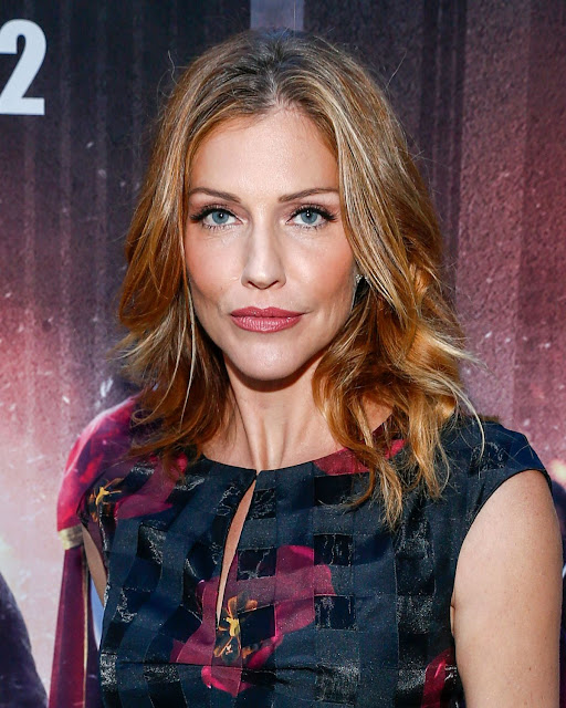 Actress, Model, @ Tricia Helfer at powers premiere in culver city
