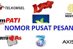 Nomor Pusat Pesan Semua Operator Di Indonesia