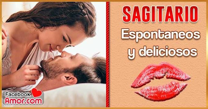 Como besa Sagitario