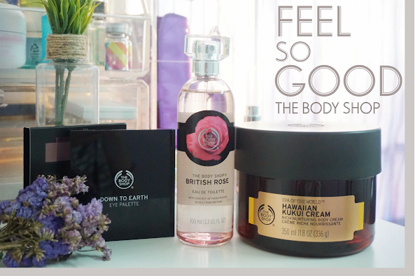 Feel GOOD from Day to Night with The Body Shop