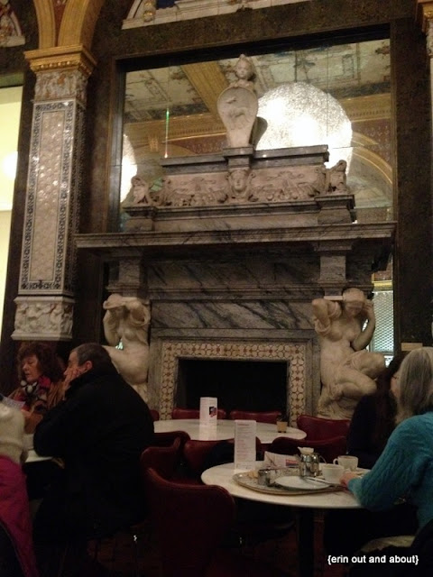 {ErinOutandAbout} the V&A museum cafe