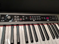 picture of Korg C1 Air control panel