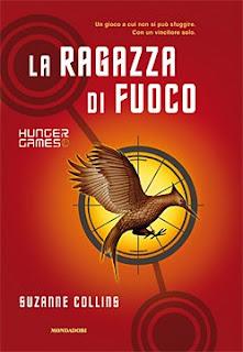 Copertina La ragazza di fuoco, Hunger Games, Suzanne Collins