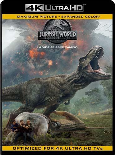 Jurassic World: Mundo Jurásico (2015) 4K UHD [HDR]  Latino [GoogleDrive] SilvestreHD