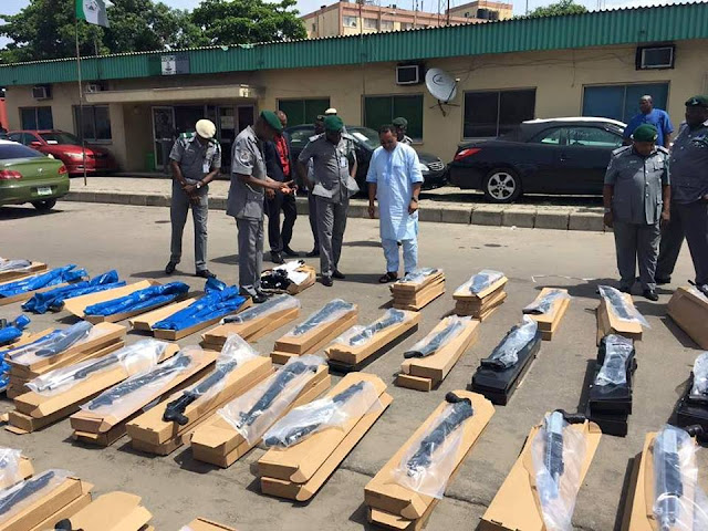 See Pictures Of The Ammunitions Recovered Today In Apapa