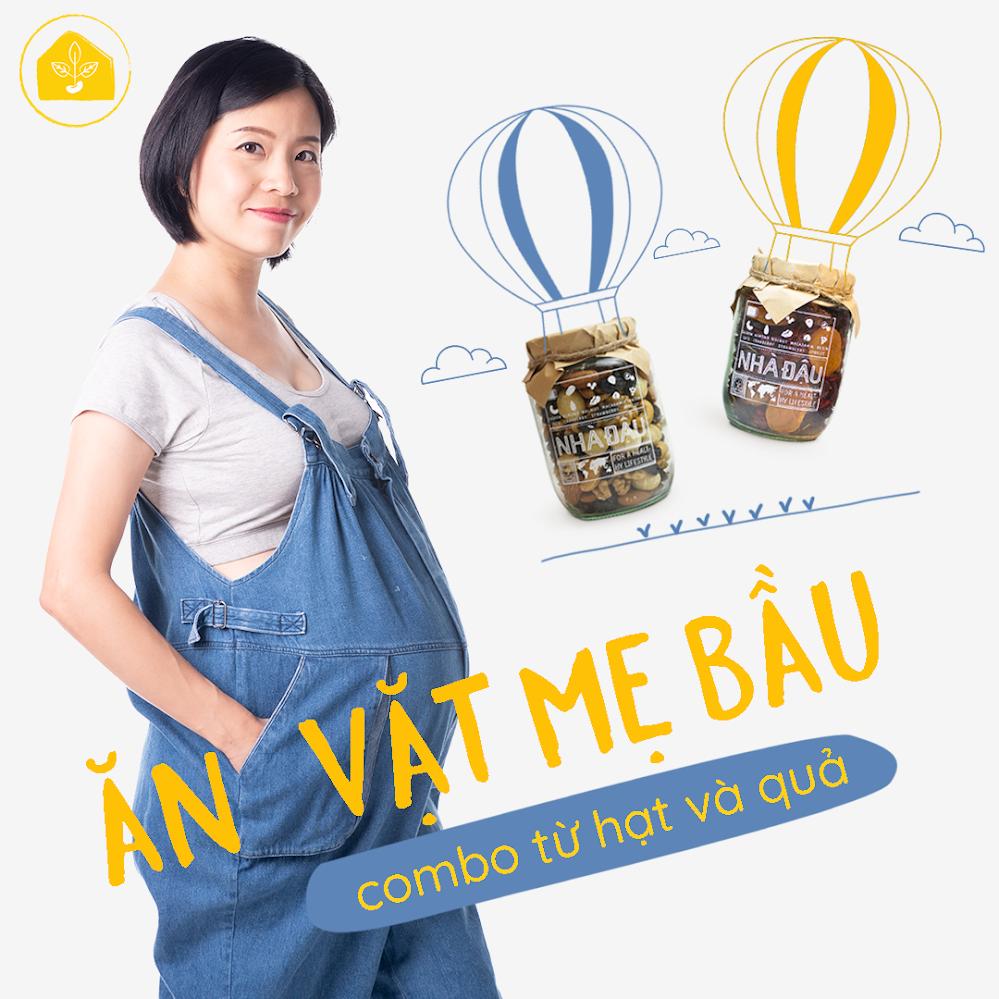 [A36] Mixnuts ăn vặt cho Bà Bầu mới mang thai