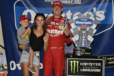 #NASCAR  #Winner Kyle Buschs' Chicago Race Recap for the Overton's 400