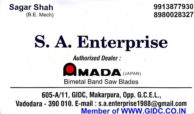 S A ENTERPRISE - 9913877930, 8980028327