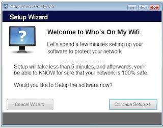شرح وتحميل برنامج Who's On My Wifi