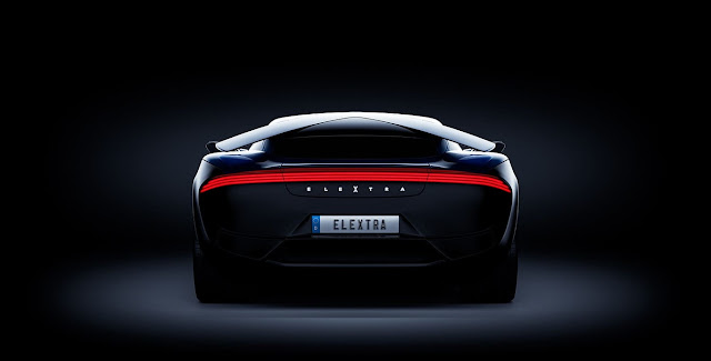 The electric sports car can also be European: Elextra promises the four fastest places