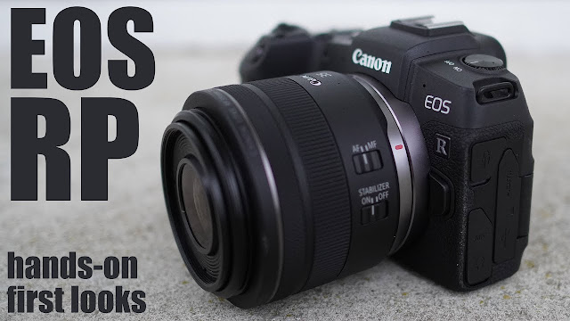 Canon's EOS RP Mirrorless Camera cover image