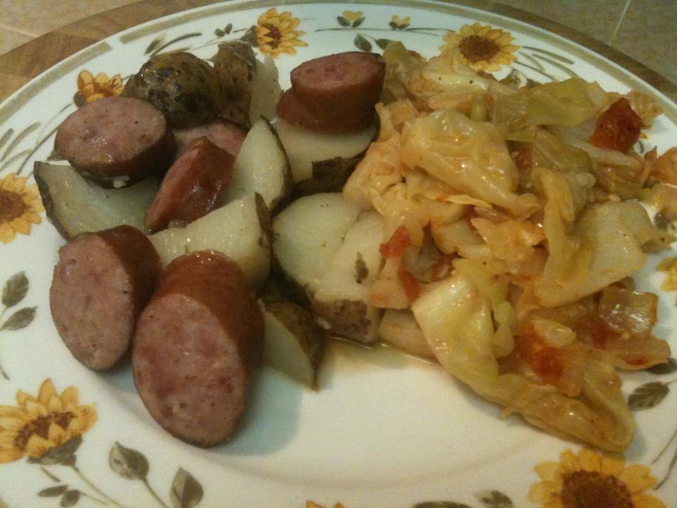 Polish Sausage And Potatoes