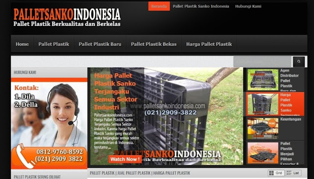 Pallet Plastik di Indonesia