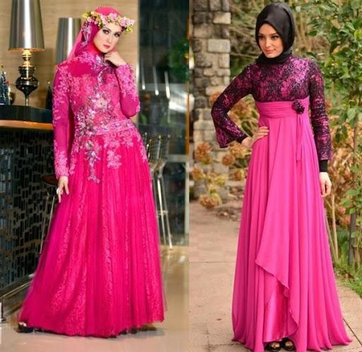 dress kebaya muslim terbaru 2017/2018
