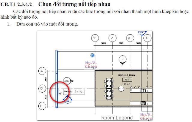 Cách chọn đối tượngk trong Revit 2014 đến 2016 Chon-dtuong-3