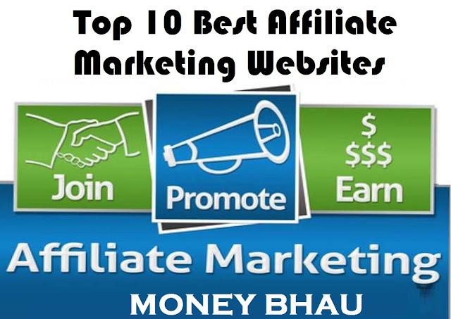 Top 10 Best Affiliate Marketing Websites in India