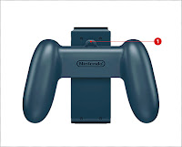 Nintendo Switch back grip