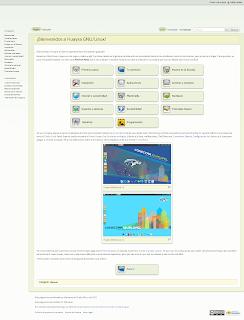 pagina inicial de Huayra