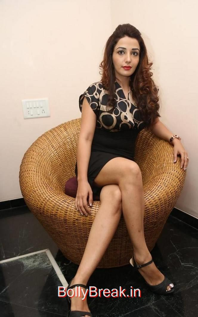 Telugu ActressSonia Mann, Sonia Mann Hot Pics from Dhee Ante Dhee Release Date Press Meet