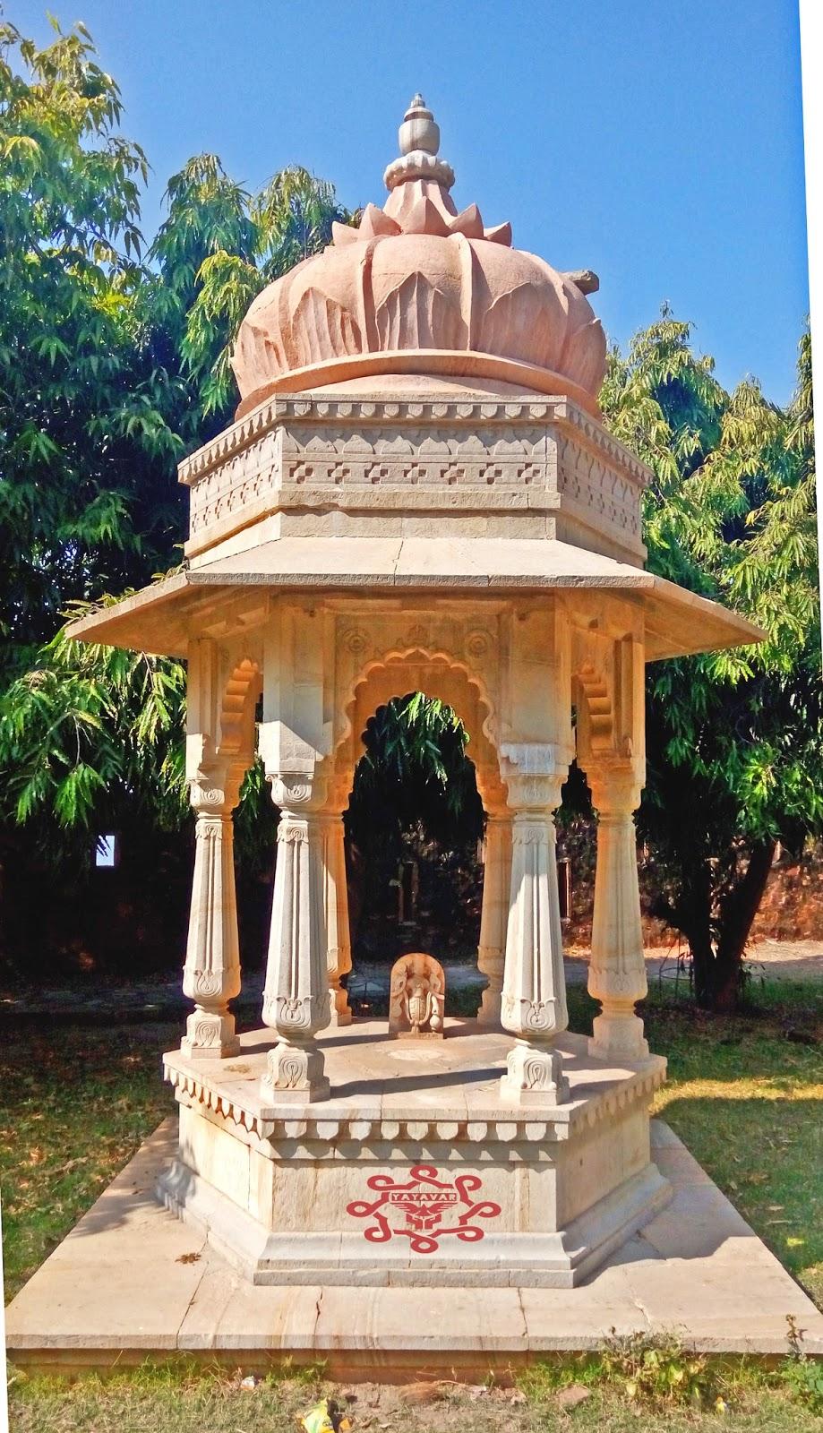 Artistic Cenotaph Chittorgarh