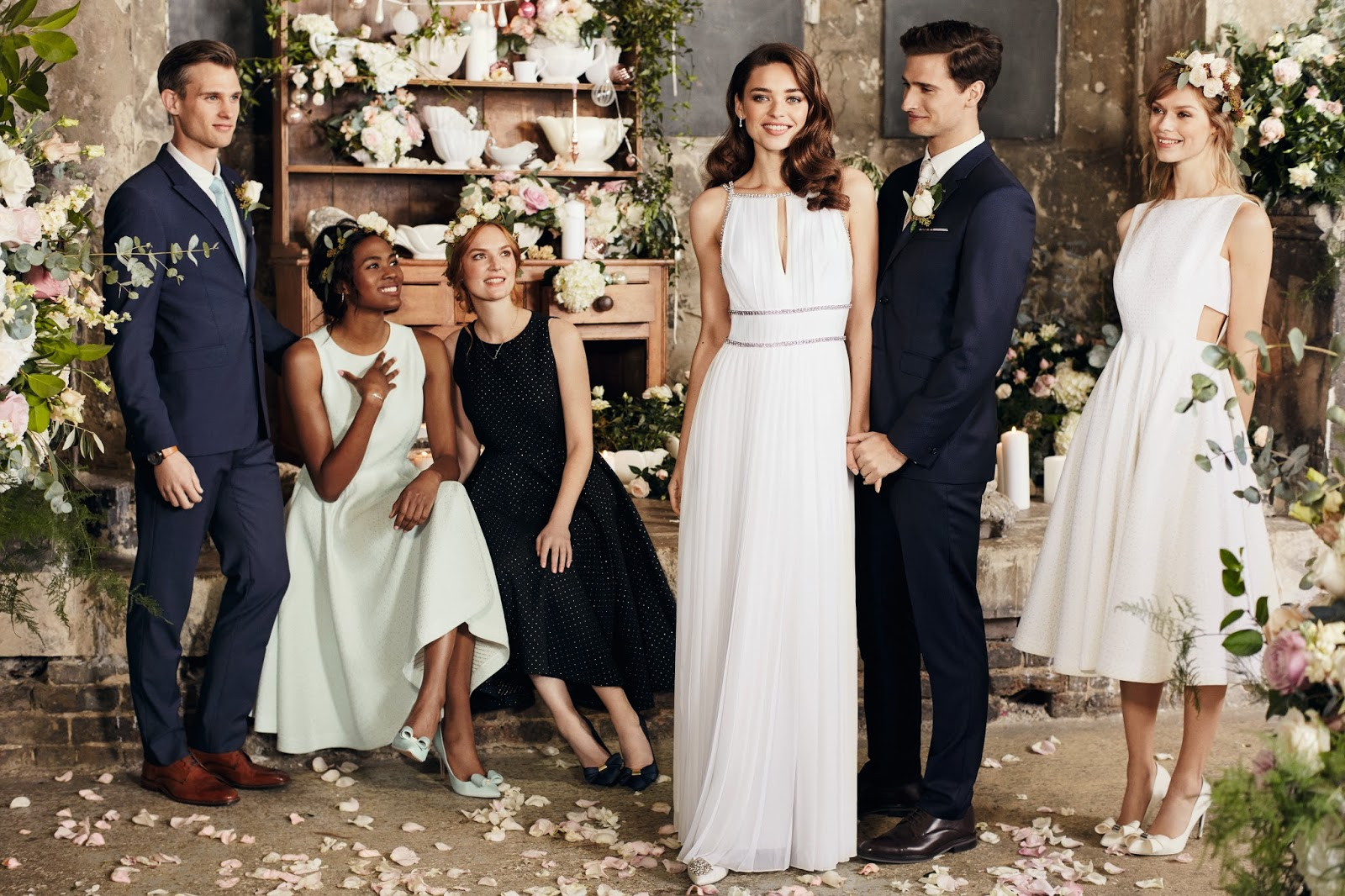 So Bridal News One Of My High Street Favourites Ted Baker Has Announced That They Will Be Unveiling Their Debut Collection Tie The Knot