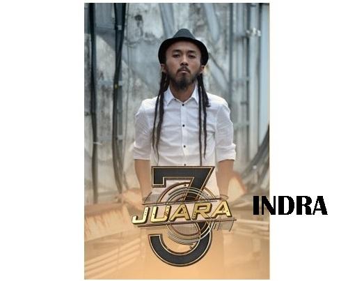 biodata Indra peserta 3 Juara TV3, biodata 3 Juara TV3 Indra, profile Indra 3 Juara TV3 2016, biografi Indra, profil dan latar belakang Indra 3 genre rock, gambar Indra 3 Juara TV3