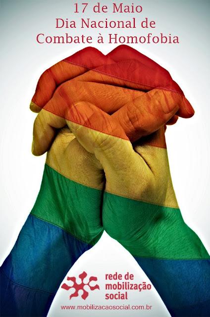 Dia 17 de maio é o dia mais importante aos LGBTs no mundo