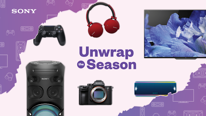 Find out what's instore for the whole family from Sony's Unwrap the Season Promotion