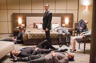 Joseph Gordon-Levitt as Arthur in Inception, Dream Sequence, Directed by Christopher Nolan