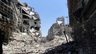 ruïne Aleppo
